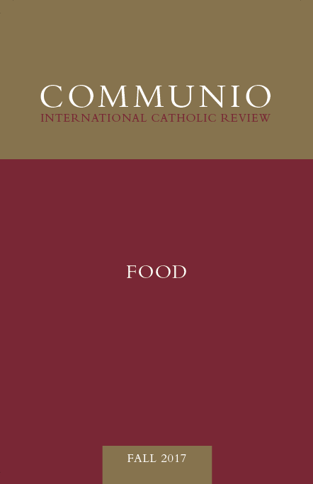 Communio - Fall 2017 - Food
